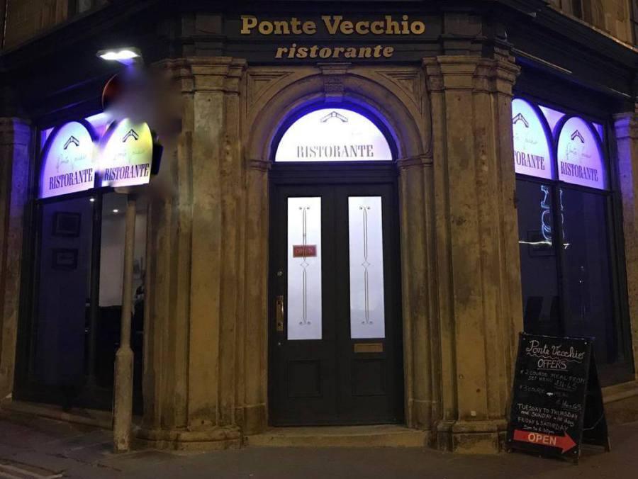 Ponte Vecchio Italian Restaurant In Keighley